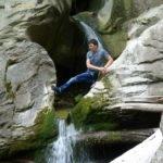 Свирское ущелье. Водопад Адам и Ева