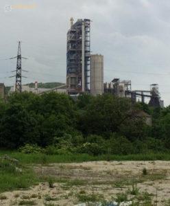 Новороссийск. Цементный завод